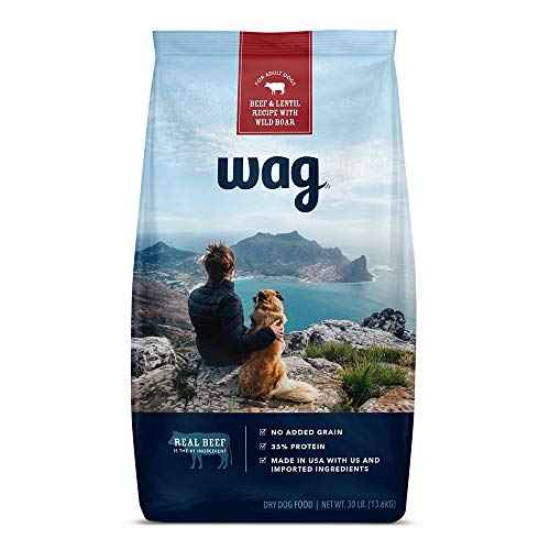 Amazon Brand - Wag Dry Dog Food Beef & Lentil ...