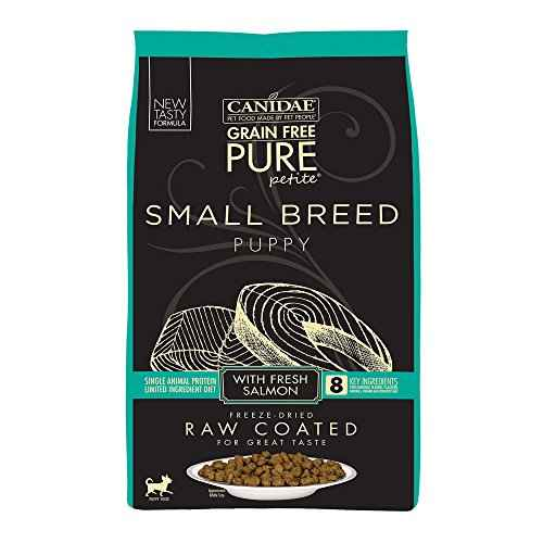 Canidae Pure Petite Raw Coated Puppy Salmon ...