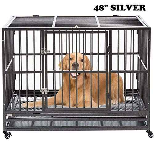walnest Dog Cage Crate Kennel Heavy Duty ...