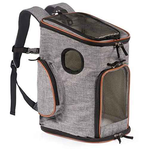 Sac à dos Pawfect Pets Pet Carrier pour chats…